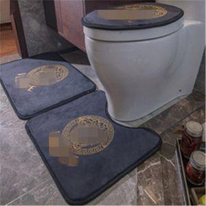 Moda Marka Tuvalet Ayak Kapak Klozet Kapak No-slip Harf Sıcak Satış Banyo Takımı Ücretsiz Kargo yazdır