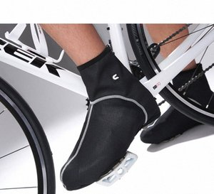 Wholesale-Windrpoof waterproof fleece thermal ciclismo Mountain sport Bike Cycling Shoe Cover OverShoes Bicycle Riding Lock Shoe Cover u4wU#