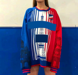 20FW Men Women Hoodies with Famous Towel Print Top Quality Autumn Winter O-neck Sweatshirt Fashion Streetwear with Multi-color Size S-3XL