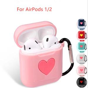 Caso para el caso Airpods 2 1 AirPod EarPods Accesorios linda chica Aipods protector Aire vainas Airpods2 Cover de Apple Airpods