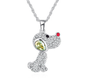 Ms Betti 2019 new lovely Pendant Necklace with crystal from Swarovski best Christmas gifts for girls women bijoux00