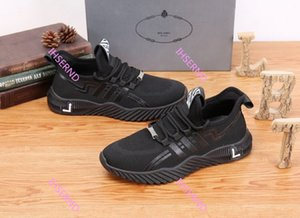 Prada 2020 nouvelles Casual Accessoires Chaussures Sneakers Formation gner Mode femmes et les hommes sweetheart chaussures Ventilation Augmenter chaussures