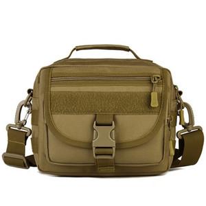 Shoulder Bag Outdoor Bag Man Hiking Waterproof Sturdy Camping Bag Solid Tactical Shoulder Bags with Strap