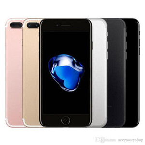 Refurbished Unlocked Apple iphone 7 plus With Touch ID 4G LTE Quad core 12MP 2G RAM 32G 128G ROM 5pcs