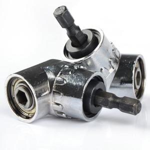 Nuovi driver regolabile 105 gradi angolo retto Tools Cacciavite a mano Set 1/4 Hex Shank For Power trapano punte di cacciavite Strumenti