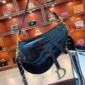 Dior Borsa da sella Top Quality Borse in pelle a tracolla in metallo donne del sacchetto Pendant spalla Borsa Crossbody Borse