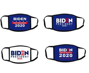 America president Biden Masks 2020 USA Flag Masks Hot Selling Party White Blue Masks For president 50 pcs