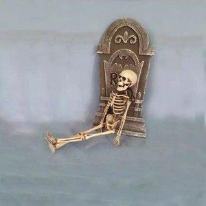 Decorazioni di Halloween 40 centimetri di scheletro del cranio di simulazione Piccolo scheletro del fantasma Festival Bar KTV decorazioni Cranio Scheletro Ornamenti