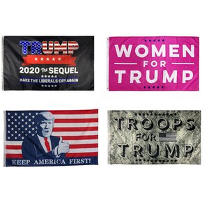 2020 Trump Flags Election 3 x 5 Feet Trump Flag Banner Keep America Great for Presidential Election Banner XD23990