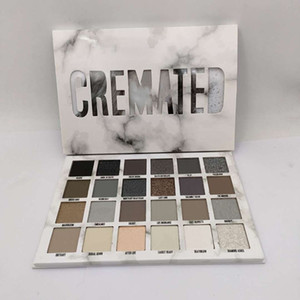 Newest Five Star Cremated eyeshadow palette Makeup Cremated 24 color eyeshadow palette Shimmer Matte high quality free shipping