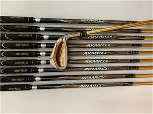 4 Stelle Honma IS-07 Set da stiro Honma S-07 Golf Clubs 4-11AwSw R / S / SR Flex ARMRQ Pozzo della grafite Coperchio Testa Con
