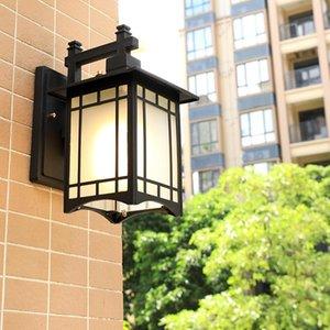Led Camino Chinese Power Wall linterna de luz de lámpara de jardín tiempo al aire libre llevó la luz moderna iluminación exterior de pared exterior de iluminación