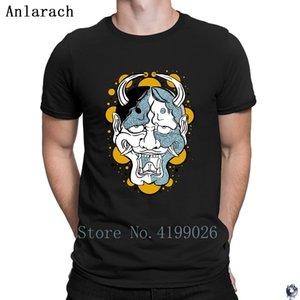 ANLARACH MASK T-shirt d'été pour hommes Créer un style Dernier MAD MAD SUMENT TSHIRT HOMME SLIM TOP COTTON VAUTR