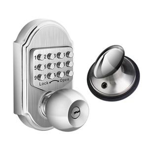 Keyless Mechanical Digital Code Keypad Password Entry Door Lock Knob Deadbolt