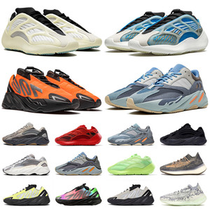 2020 New Arrival Kanye West 700 Azareth Running Shoes for men women Runner Azael Alvah Alien Mist Carbon Blue Vanta Sports Sneakers Trainers