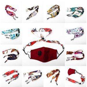 11 stili Maschera di estensione metallo riutilizzabile Face Porta Maschera Glassses maschere cordino Resto Holder Orecchio corda Hang On stringa del collo maschere YYA490