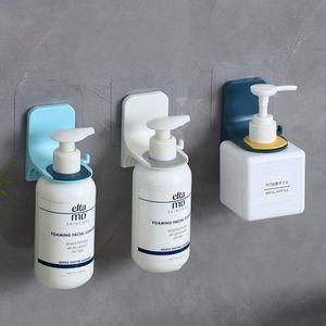 Sostenedor de la suspensión de baño pared de la ducha Gel pared estante pegatinas adhesivo fuerte Baño Etiqueta Bastidor Bastidor Hook Cocina pegarse yhsyu yh_pack
