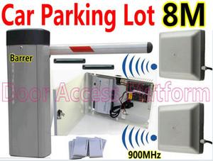 Estacionamento Lot Car Entrada Card Management Medidor 8 ler Barrier gate Network Controller Web IP UHF + ABS Tag + Adesivos