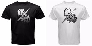 2019 nuovi Mens di Gintama anima argento amanto samurai Gintoki yakuza anime manga japan T-Shirt T-shirt