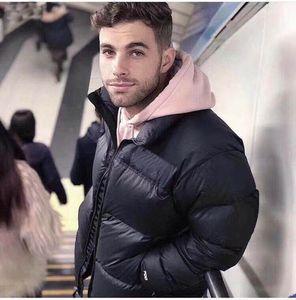 ceket marka moda trendi ceket pamuk pamuk çift kalınlaşmış sıcaklık su geçirmez aşağı ceket aşağı 2020 kış erkek