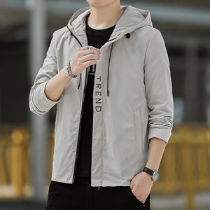 Frock coat tide male Korean version of the 2020 spring and autumn new thin section men's casual jacket men's clothes