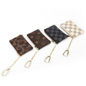 여성과 아이들 립스틱 가방 세련된 인쇄 된 고급 지갑 디자이너 귀여운 사랑스러운 핸드백 카드 동전 지갑 미니 지퍼 파우치