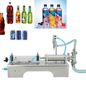 Toptan fiyat tek kafa yarı otomatik dolum makinası bira içecek sıvı dolum makinesi otomatik kantitatif Enjektör, doldurma Machin