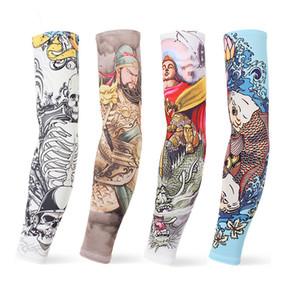 New Imitation Tattoo Arm Sleeve Fashion Tattoo Sleeves Arm Warmer Unisex UV Protection Outdoor Temporary