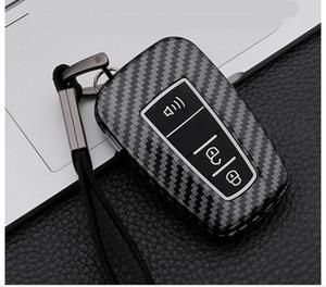 Metal toka silikon malzeme ile Araba Anahtar Kılıfı için Toyota Reiz CHR RAV4 Prado Prius Camry Corolla CHR