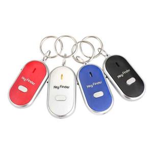 Key Finder Anti-потерянный Smart Key с светодиодным фонариком Whistle Finder мигающих Beeping Ключи Tracker Locator Аксессуары