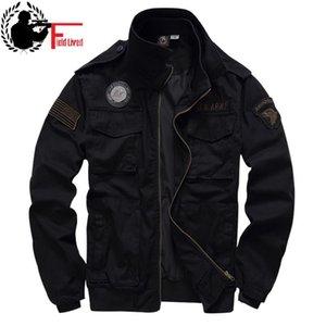 Tactical Jacke für Herren 101 Airborne Militäruniform der Armee-Art Winterflug 2020 Ma1 Mantel American Military Kleidung Männlich Grüne LJ200919
