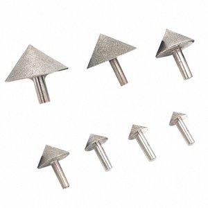 Elektroliz Diamond 20-50mm Koni Pah Taşlama Baş Taş Cam Pah Kafa Zımpara Aracı Aksesuar Odar #