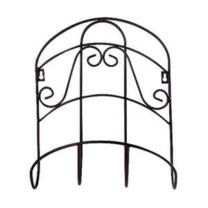 Reel Hanger Sturdy Decorative Durable Storage Rack Garden Hose Holder Water Pipe Tidy Iron Universal Wall Mounted Retro