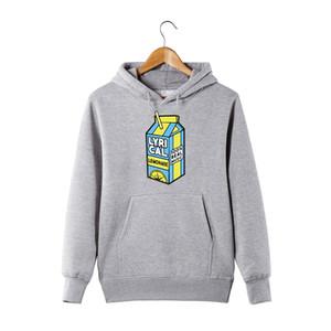 lyrique limonade Hoodie vraie musique 100% drôle à capuche pour hommes / femmes lyrique limonade pull avec capuche Sweatershirt