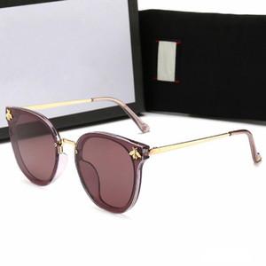 Case ve Box ile Yeni Moda Erkek Tasarımcı Polarize Güneş Gözlüğü Kadın Lüks küçük arı Güneş Gözlükleri UV400 Güneş gözlüğü