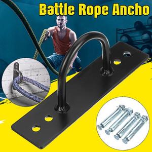Battling Rope Anchor Strap Kit Wall-mounted Yoga Ring Hook Hammock Sandbag Holder with Expansion Screw
