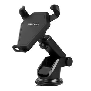 2020 New Wireless Charger Car Stick Mount Stand Holder Fast Charging 2.0 for Samsung Galaxy Note 8 S8 Plus S7