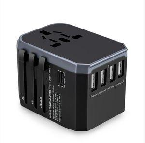 universal tomada adaptador de energia multifuncional tomada de corrente adaptador conjunto European Travel EUA AU