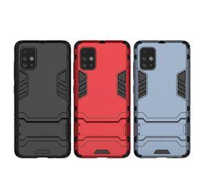 Ücretsiz Hızlı Kargo Galaxy A51 Not 20 Huawei P40 sonbahar geçirmez parçalanmaya dayanıklı Kılıf Samsung A51 standı koruma kılıfı