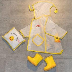 C8dhX bambini cuffie cambio mantello impermeabile neonate 1-3 poncho vecchi ingranaggi di scuola materna anni stivali da pioggia cappello set grande gronda scolari pioggia 2 grande