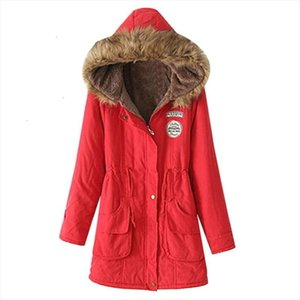 Winter Female Coat Thickening Cotton Winter Jacket Fashion Womens Outwear Parkas For Women Winter 2020 New Parkas Women