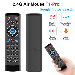 Voice Control Air Mouse for Android TV Box Projector Google Player 2.4G Wireless Mini Keyboard Remote Controller for LG Sony Smart TV