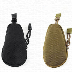 Outdoor Military Enthusiasts Key Bag Canvas Portable Camouflage Tactical Coin Purse Accessory Package Army EDC Tool Commuter Kits AAB1974