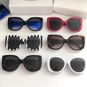 2020 NOUVEAU Mode Womens Sunglasses populaires Charmante Cat Eye Eye Cadre Simple Qualité Uv400 Protection Ceinture Original Box Ve Verres 4387