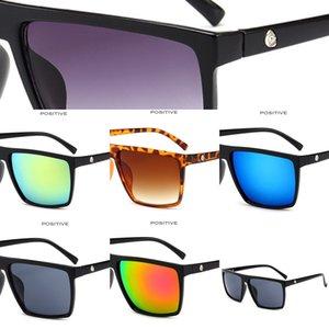 Erkekler 2020 kare tasarımcı marka ayna büyük boy kromatik erkek güneş gözlüğü, erkek güneş gözlüğü