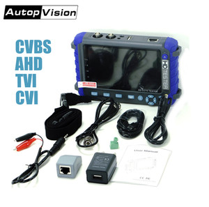 CCTV 카메라 모니터 전문 CCTV 테스트 도구 5 인치 디스플레이 8MP AHD TVI 800 만 화소 CVI CVBS CCTV 카메라 테스터 모니터 PTZ