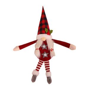 Sheer Curtains Door Christmas Ornaments Bundling Cute Curtain Buckle Faceless Doll Home Decor