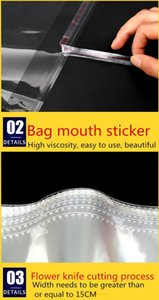 Sealing Clear Bag Bags Cellophane Bags Self-adhesive Packing Size Small Cello Self Candy For Resealable Multiple Plastic bbyES bdesports