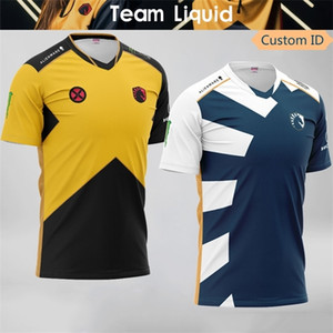 2020 Team Liquid Tactical Player Jersey Uniform Fans Game LOL CSGO DOTA2 T-shirt Men Women Custom ID T Shirt Tees Shirts 0921