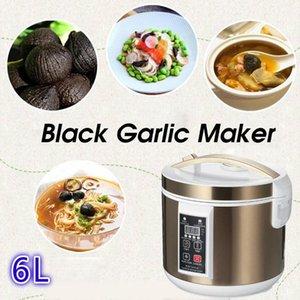 Joghurt-Hersteller 6L Automatischer schwarzer Knoblauch-Fermenter-Smart Fermentationsmaschine verdickt Natto DIY Küchenkocher 220V